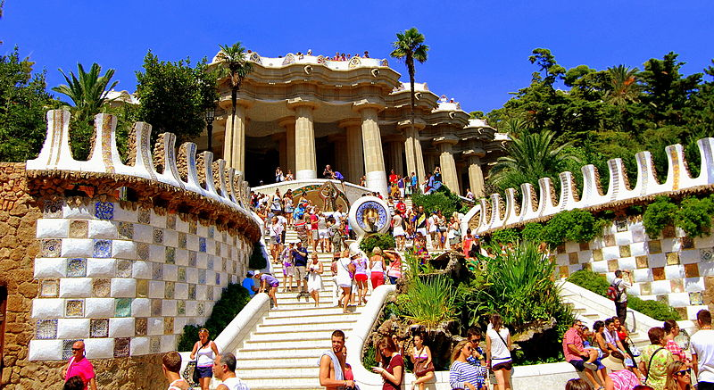 Park Guell is one of the top places you should consider when drafting your list of what to see and do in Barcelona